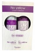 Fanola No Yellow Ocean set - sada šampon No Yellow 350 ml + maska No Yellow 300 ml s extraktem z řas