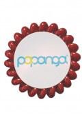 Papanga Classic velká - rubínová červená
