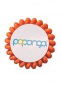 Papanga Classic velká - sytě-oranžová