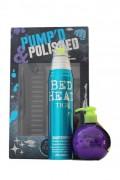 TIGI Bed Head Pump'd & Polished krém 3v1 200 ml + lak s leskem 340 ml
