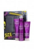 TIGI Bed Head Size Matters šampon 250 ml + kondicionér 200 ml + tužidlo 311 ml