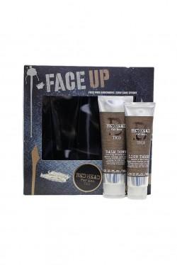 TIGI Bed Head Face Up krém po holení 125 ml + balzám na bradu 100 ml