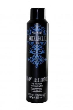 TIGI Bed Head Rockaholic Livin 'The Dream suchý šampon na vlasy 250 ml