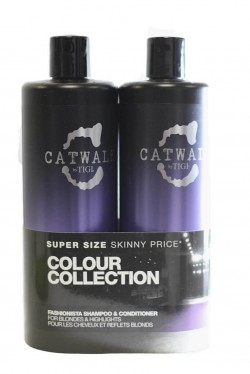 TIGI Catwalk Fashionista šampon 750 ml + kondicionér 750 ml