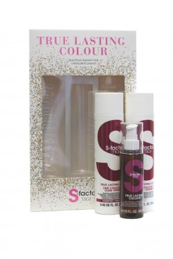 TIGI S-Factor True Lasting Colour šampon 250 ml + kondicionér 250ml + olej 100 ml