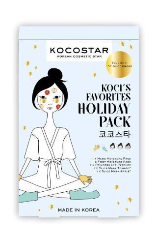 Kocostar Holiday Pack sada tělových a pleťových masek