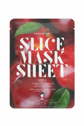 Kocostar Slice Mask Sheet Apple pleťová maska