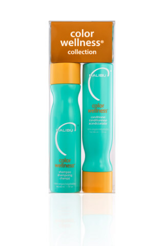 Malibu Color Wellness Collection šampon 266 ml + kondicionér 266 ml + wellness sáčky 5 kusů
