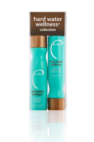 Malibu Hard Water Wellness Collection šampon 266 ml + kondicionér 266 ml + wellness sáčky 4 ks