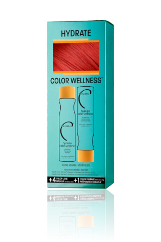 Malibu Hydrate Color Wellness Collection šampon 266 ml + kondicionér 266 ml + wellness sáčky 5 kusů