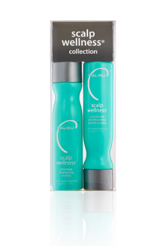 Malibu Scalp Wellness Collection šampon 266 ml + kondicionér 266 ml + wellness sáčky 4 kusy