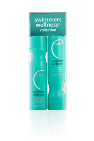 Malibu Swimmers Wellness Collection šampon 266 ml + kondicionér 266 ml + wellness sáčky 4 kusy