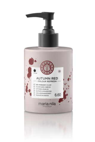 Maria Nila Colour Refresh Autumn Red maska s barevnými pigmenty 300 ml