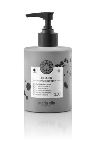 Maria Nila Colour Refresh Black maska s barevnými pigmenty 300 ml