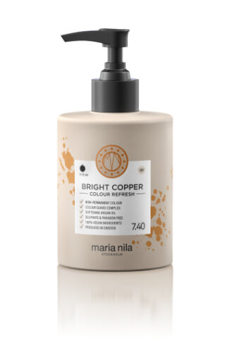 Maria Nila Colour Refresh Bright Copper maska s barevnými pigmenty 300 ml
