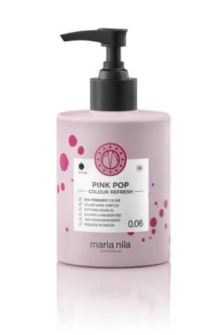 Maria Nila Colour Refresh Pink Pop maska s barevnými pigmenty 300 ml
