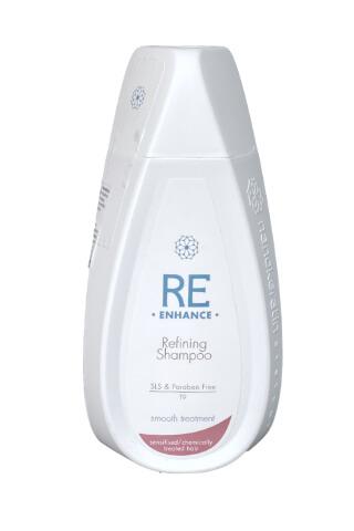 Nanokeratin System Re-enhance Refining šampon na chemicky ošetřené vlasy a citlivé vlasy 320 ml