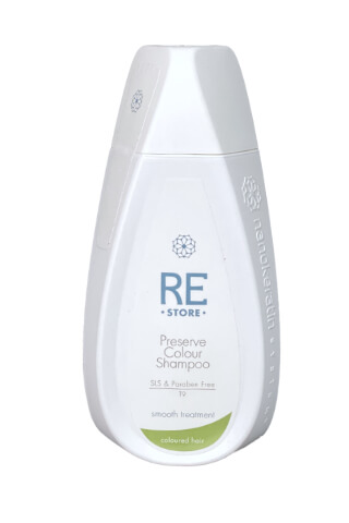 Nanokeratin System Restore-Preserve šampon na barvené vlasy 320 ml