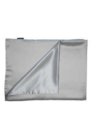 Pongee Pillow Case Silver 90x70 cm