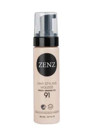 ZENZ Hair Styling Mousse Orange No.91 Extra Volume (200 ml)