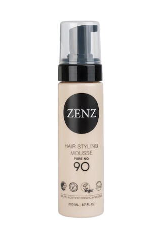 ZENZ Hair Styling Mousse Pure No.90 Extra Volume (200 ml)