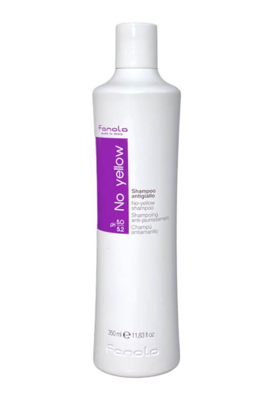 Fanola No yellow shampoo antigiallo šampon na šedivé, zesvětlené a odbarvované vlasy 350 ml