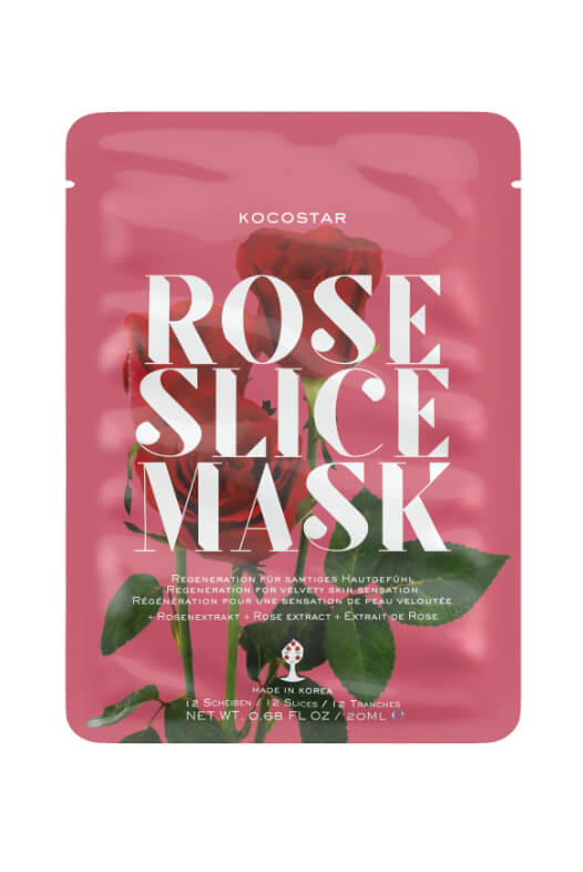 Kocostar Rose Slice Mask pleťová maska 20 ml