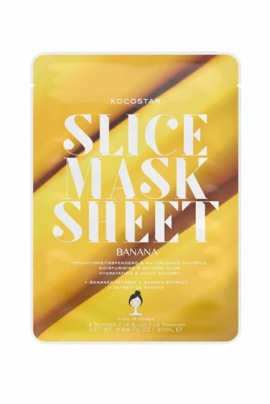 Kocostar Slice Mask Sheet Banana pleťová maska