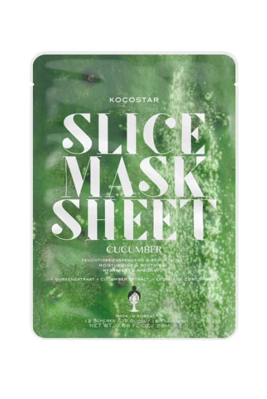 Kocostar Slice Mask Sheet Cucumber pleťová maska