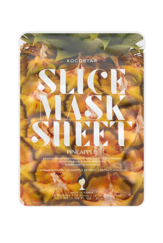Kocostar Slice Mask Sheet Pinapple pleťová maska 20 ml
