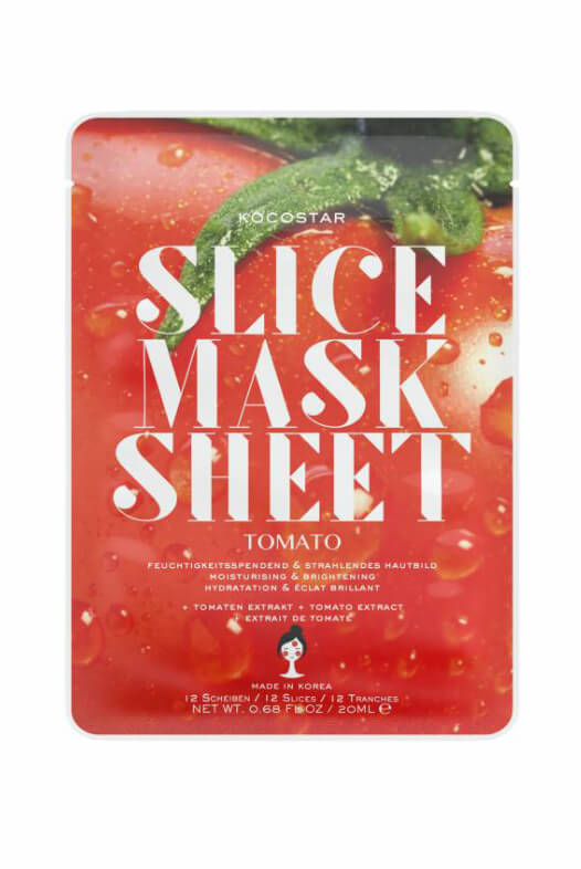 Kocostar Slice Mask Sheet Tomato pleťová maska 20 ml