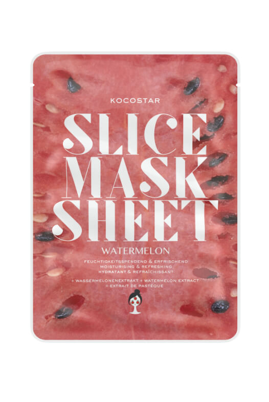 Kocostar Slice Mask Sheet Watermelon pleťová maska