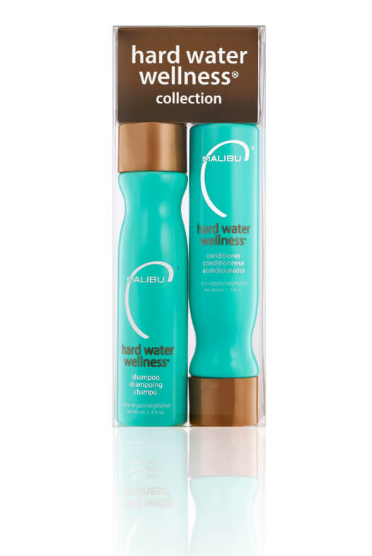 Malibu Hard Water Wellness Collection šampon 266 ml + kondicionér 266 ml + wellness sáčky 4 ks