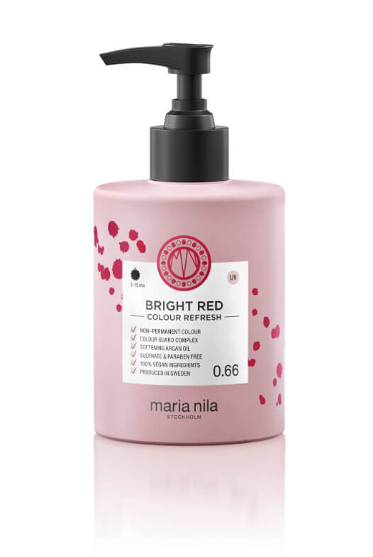 Maria Nila Colour Refresh Bright Red maska s barevnými pigmenty 300 ml