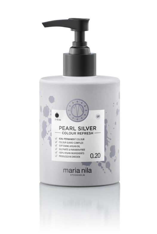 Maria Nila Colour Refresh Pearl Silver maska s barevnými pigmenty 300 ml