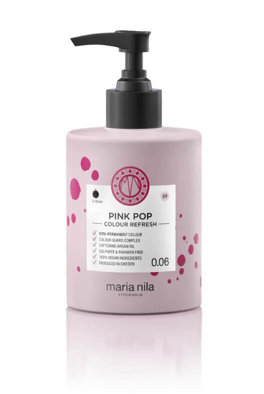 Maria Nila Colour Refresh Pink Pop maska s barevnými pigmenty 300 ml