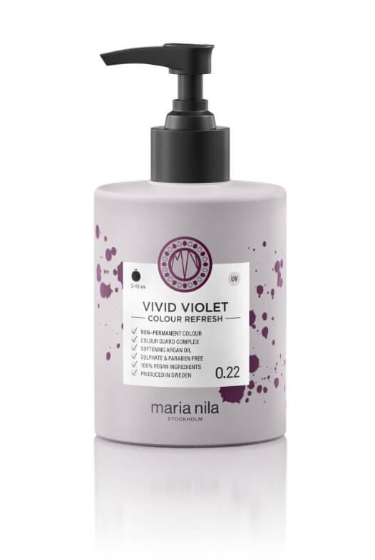 Maria Nila Colour Refresh Vivid Violet maska s barevnými pigmenty 300 ml
