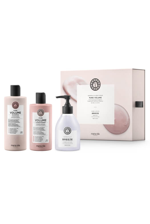 Maria Nila Pure Volume Holiday Box + krém na ruce