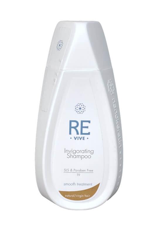 Nanokeratin System Revive Invigorating šampon na naturální vlasy 320 ml