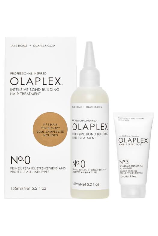 Olaplex No. 0 Intensive Bond Building Hair Treatment 150 ml + 30 ml Olaplex No. 3 zdarma