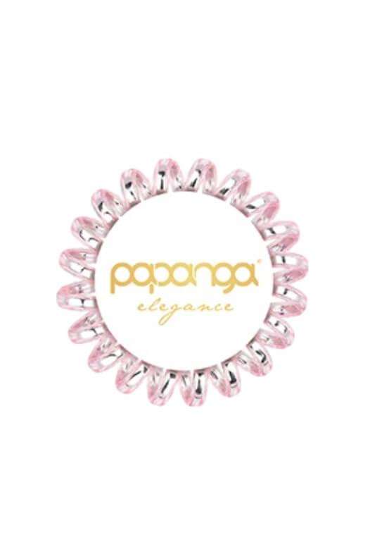 Papanga Elegance malá - růžovo-stříbrná