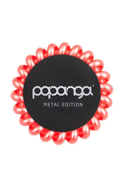 Papanga Metal Edition velká - korálová červená