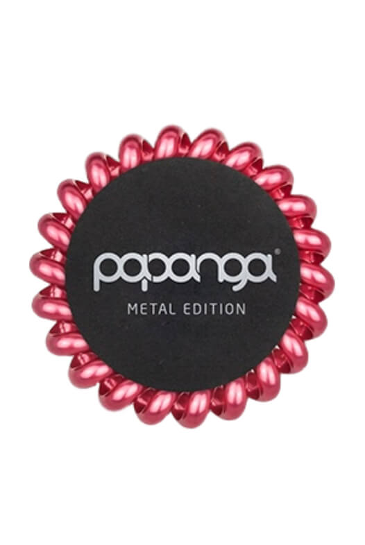 Papanga Metal Edition velká - královská červená