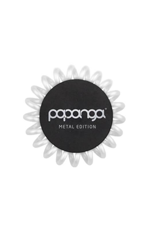 Papanga Metal Edition malá - perleťová bílá