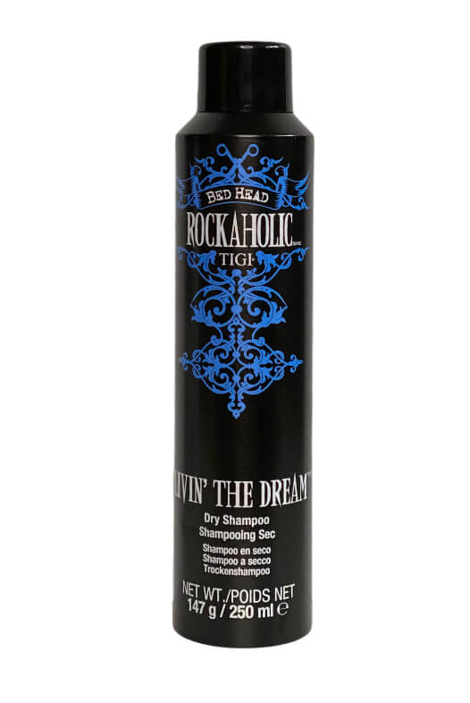 TIGI Bed Head Rockaholic Livin 'The Dream suchý šampon na vlasy 250 ml